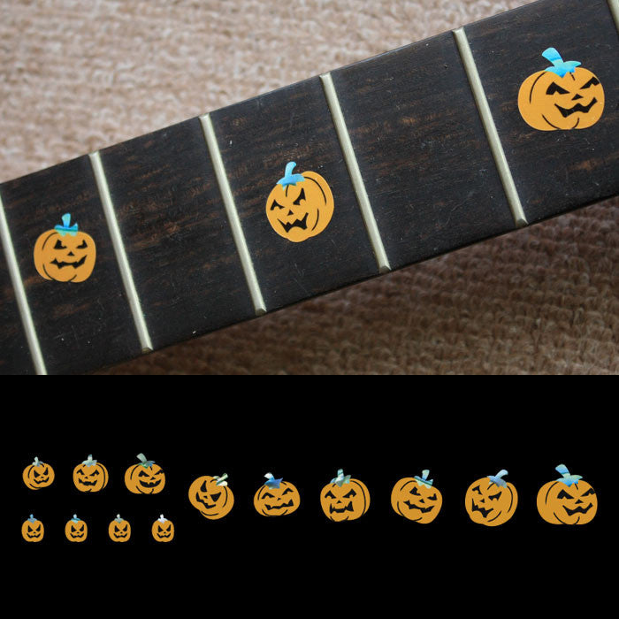 Pumpkins Fret Markers Inlay Stickers Decals