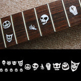 Skull Masks Fret Markers Inlay Stickers Decals