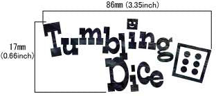 Tumbling Dice - Inlay Stickers Jockomo