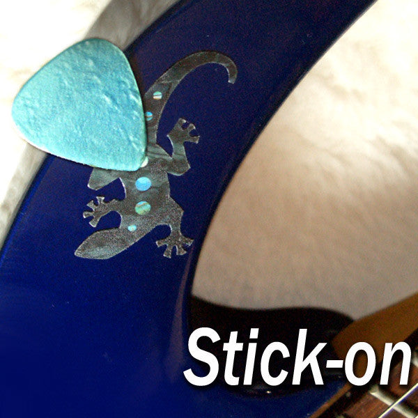 "Picks On Stickers ""Pick Holder"" Lizard 2sheets/pack - Inlay Stickers Jockomo"