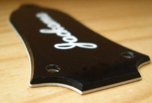 Notched Type 3-Hole Custom Engraved Truss Rod Cover - Inlay Stickers Jockomo