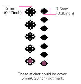 Cutted Diamonds - Fret Markers for Ukuleles - Inlay Stickers Jockomo