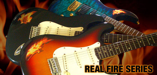 Real Fire Flame-Blues In The Fire Inlay Stickers Decals - Inlay Stickers Jockomo