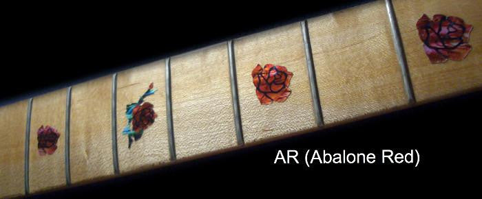 Roses - Fret Markers for Guitars & Bass - Inlay Stickers Jockomo