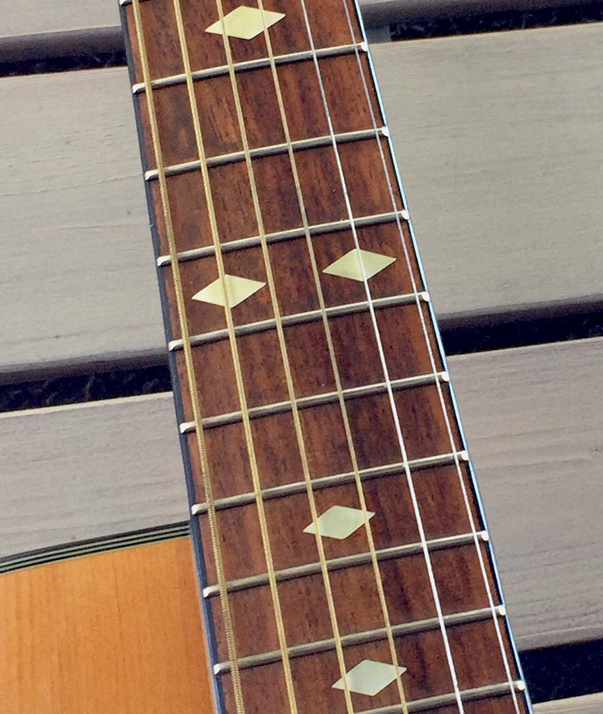 Traditional Diamonds - Fret Markers for Guitars, Bass & Ukuleles - Inlay Stickers Jockomo