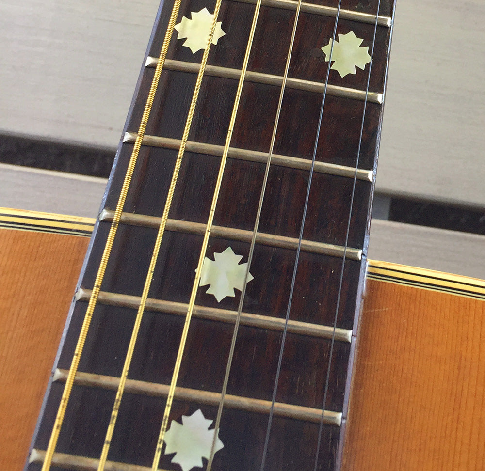 Traditional Snowflakes - Fret Markers for Guitars, Bass & Ukuleles - Inlay Stickers Jockomo