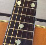 Traditional Snowflake Fret Markers Inlay Sticker Decals Guitar & Bass - Inlay Stickers Jockomo