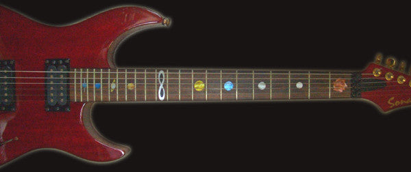 Planets - Fret Markers Inlay Stickers - Inlay Stickers Jockomo