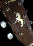 Unicorn Inlay Stickers Decals Headstock Peghead