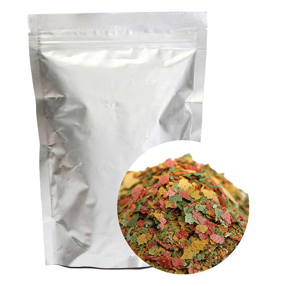 100g Tricolored Tropical Fish Flakes