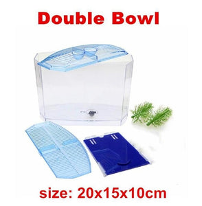 Single or Double Mini Acrylic Betta Tanks