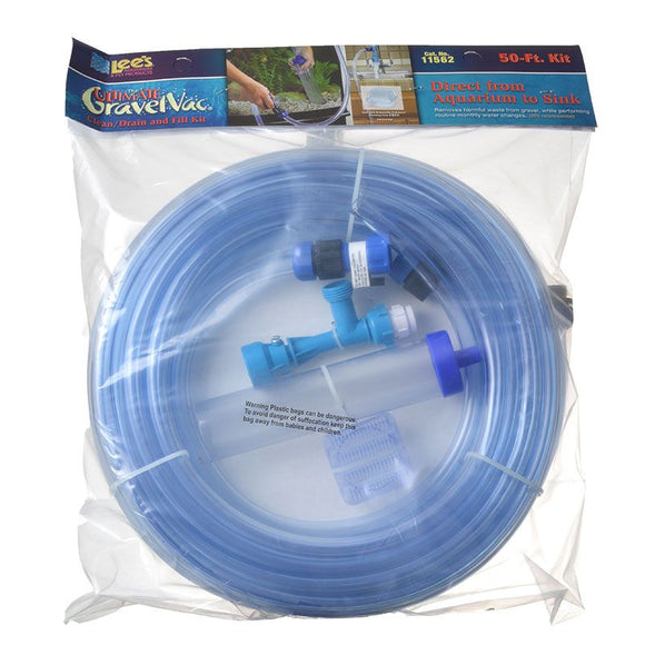 Ultimate No-Mess Aquarium Gravel Vacuum Cleaning Kit