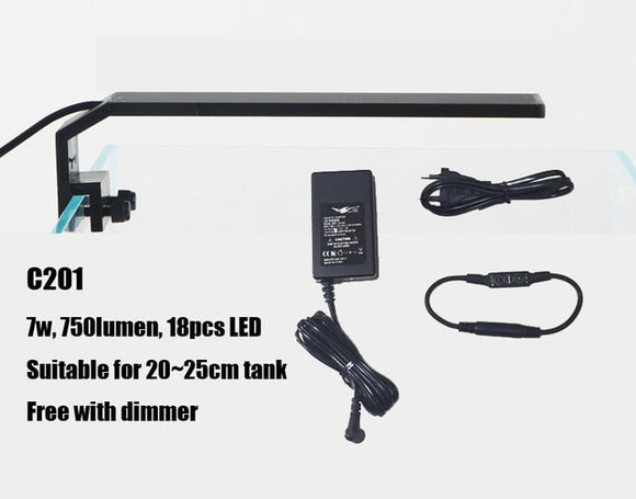Compact and Efficient LED Light for Nano Tank