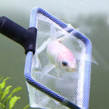 Aquarium Cleaning Tool Kit - Comes w/ Fish Net, Gravel Rake, Algae Scraper, Fork, and Glass Cleaning Sponge Brush