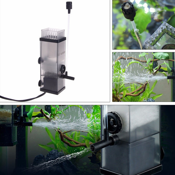 5W Mini Aquarium Pump Protein Surface Skimmer