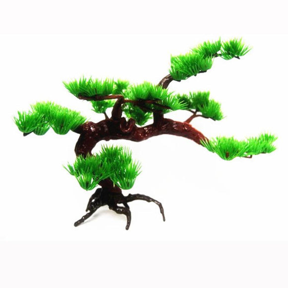 Artificial Aquarium Pine Tree