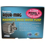 Magnetic Driven Water Pump for Large Aquatic Areas