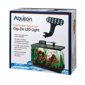 Versatile Freshwater Aquarium LED Light for Small Tropical Tanks
