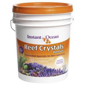 Saltwater Reef Salt Crystals (5 Gallon Bucket Treats 160 Gallons)