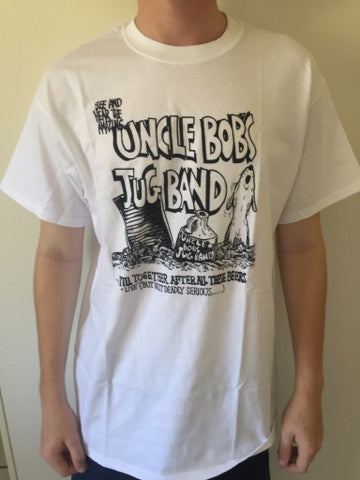 Uncle Bob's Jug Band White T-Shirt
