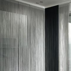 Metallic String Door Curtains 95cm X 290cm