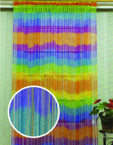 Tie Dye String Curtain