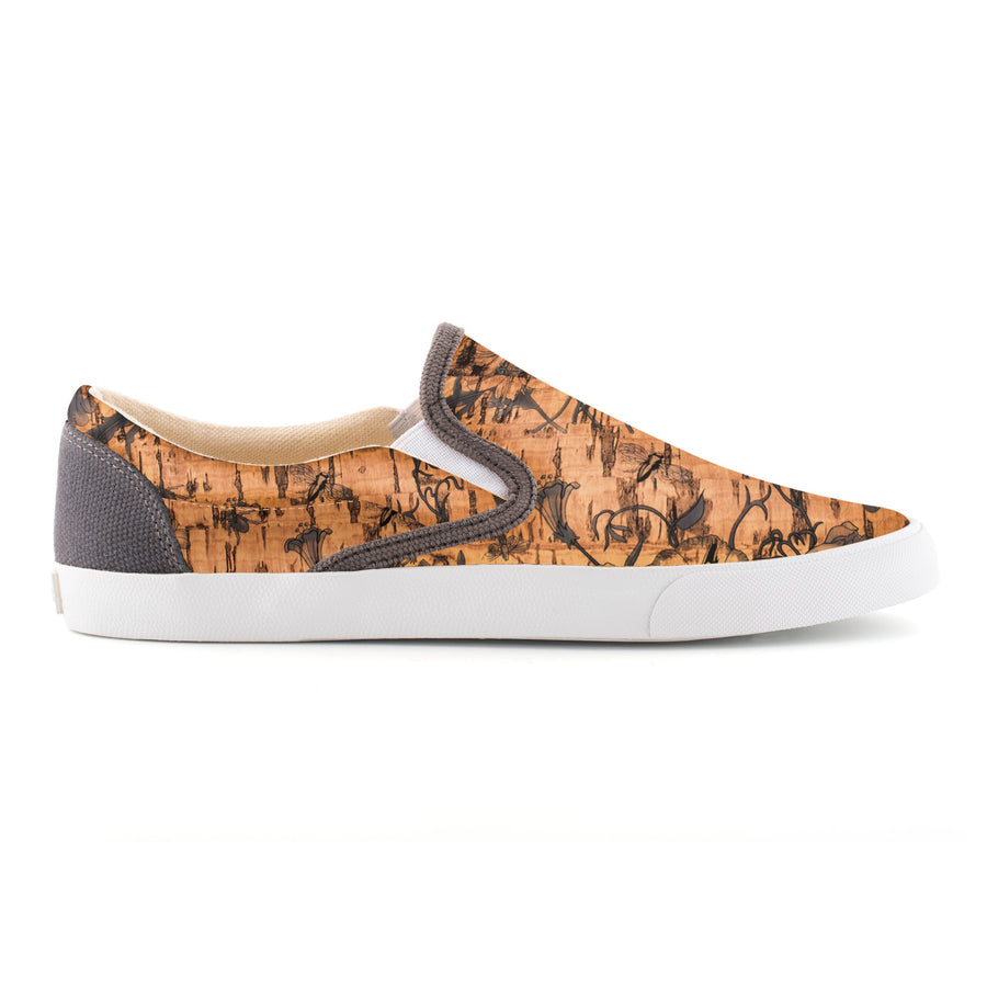 Flower Cork Slip On