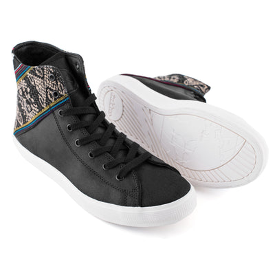 Blackbird Burnished Suede High Top - ML Footwear