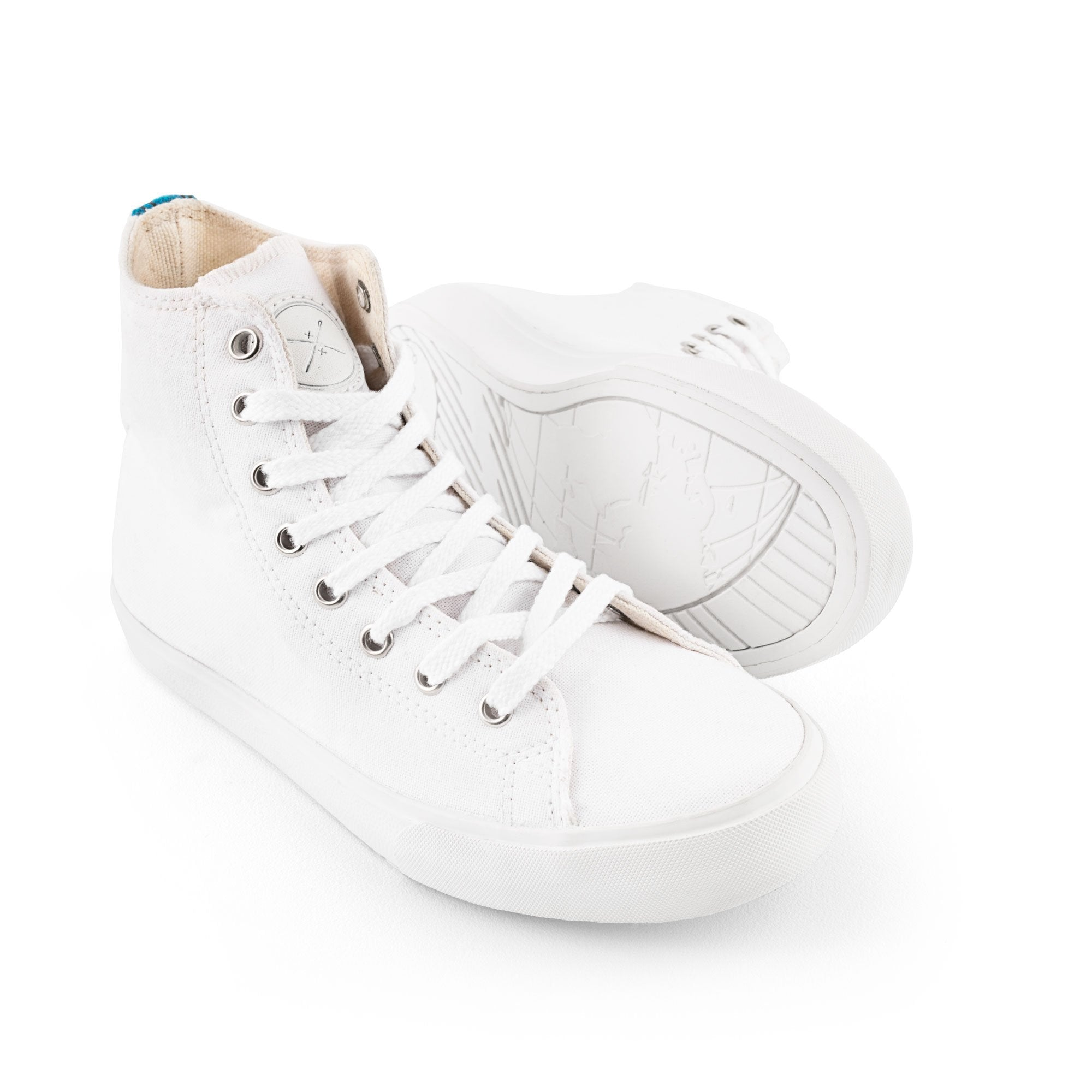 Blank Canvas High Top (SHOE ART CONTEST)