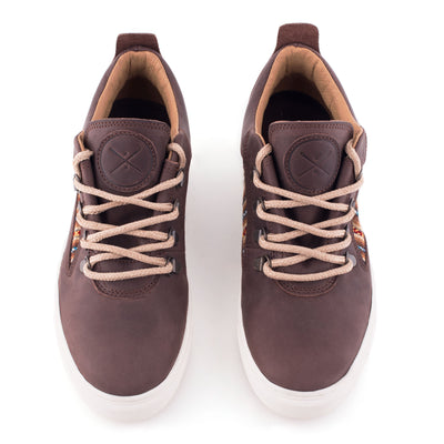 Brown Leather City Boot