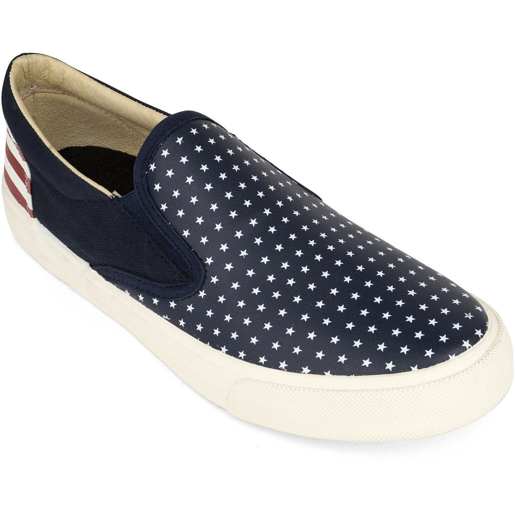 Blue Liberty Slip On