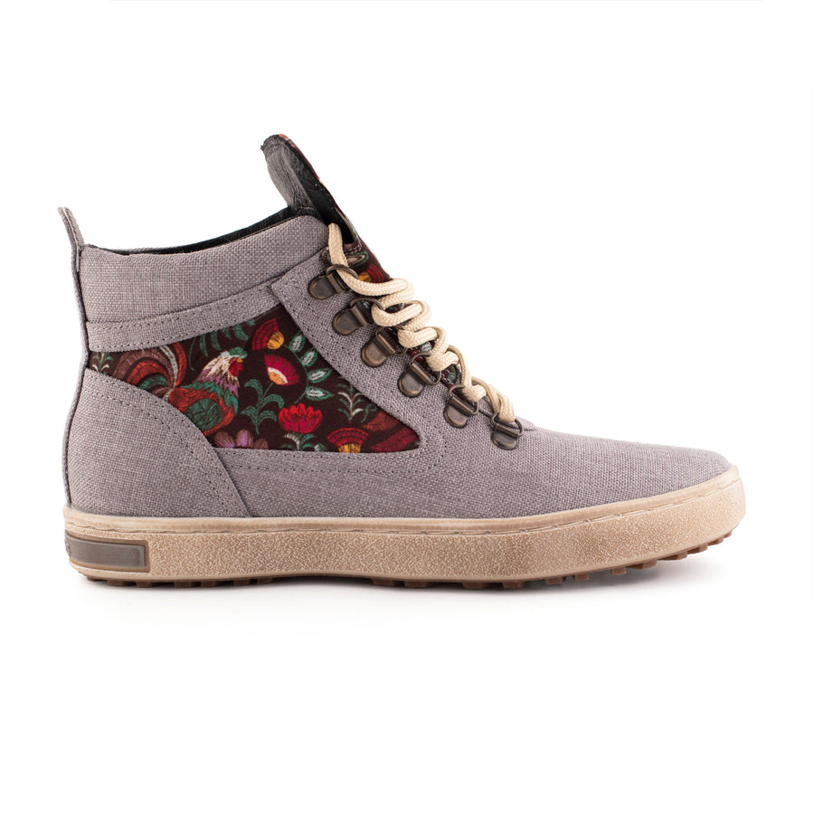 Rooster Canvas Camping Boot