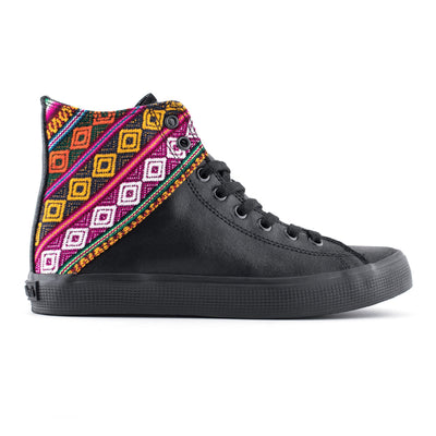Spectrum Burnished Suede High Top