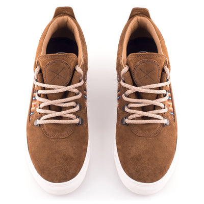 Camel Suede City Boot