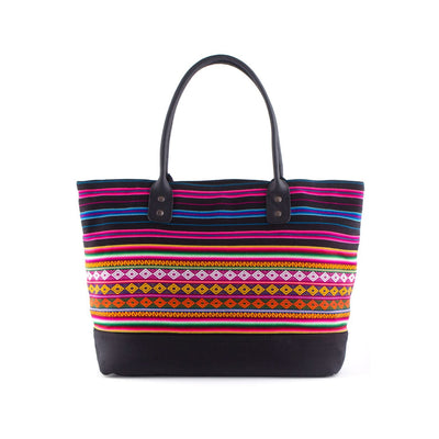 Black Spectrum Tote Bag - ML Footwear
