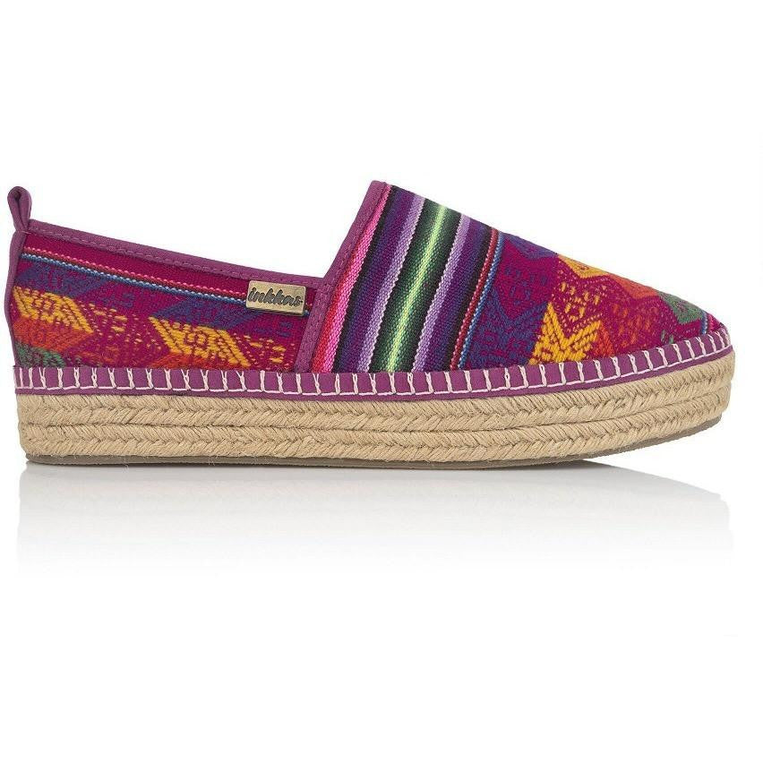 Cotton Candy Platform Espadrille