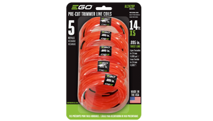 "EGO PRE-CUT .095"" TWISTED TRIMMER LINE – 5 PACK"