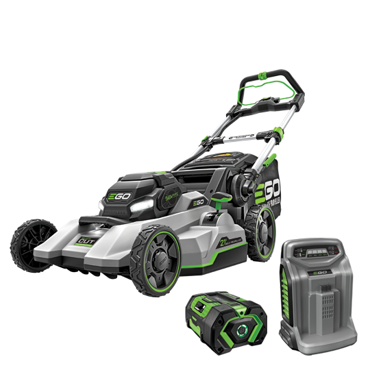 "EGO POWER + 21"" SELECT CUT™ MOWER WITH TOUCH DRIVE™ SELF-PROPELLED TECHNOLOGY"