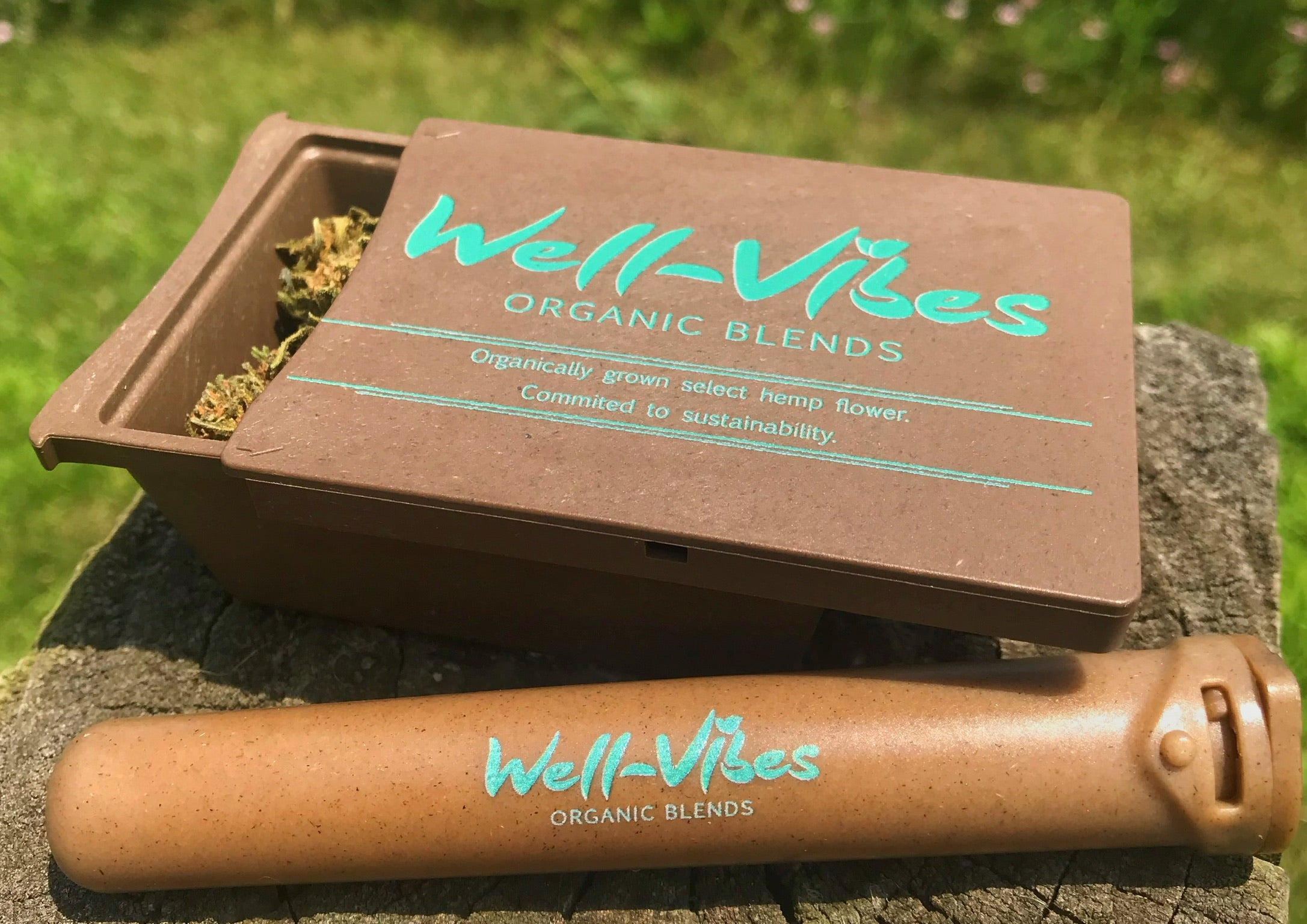 Premium Hemp Slim Cigar - Honolulu Haze - Well-Vibes Organic
