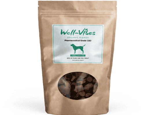 Broad Spectrum CBD Dog Treats - Well-Vibes Organic