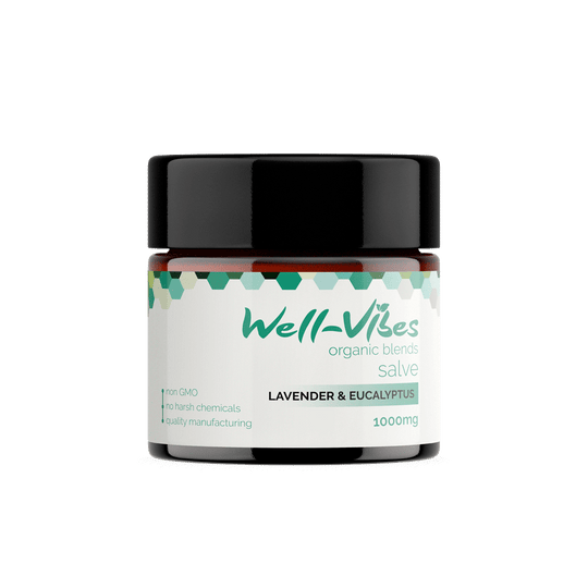 Broad Spectrum Hemp CBD Salve - Well-Vibes Organic