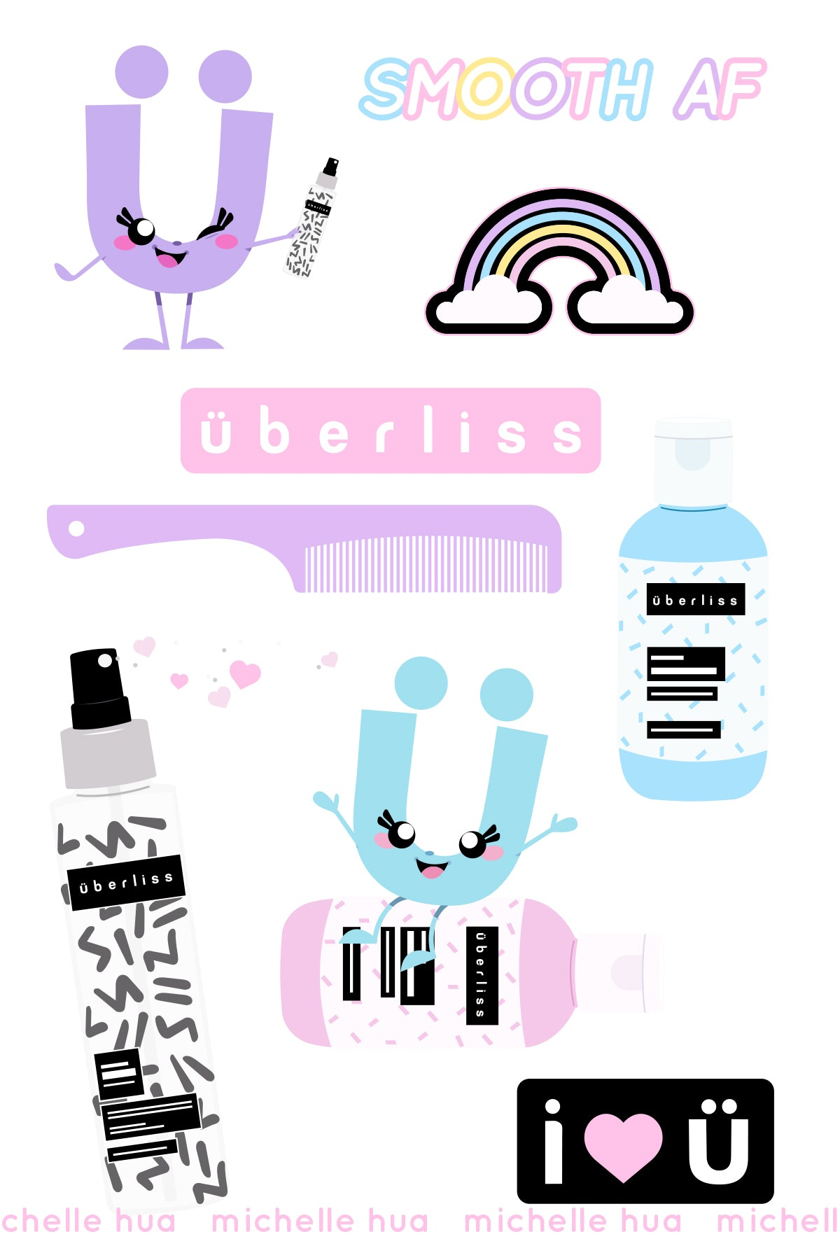 Sticker Sheet by Pretty Little Face