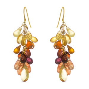 Sandalwood Drop Earrings