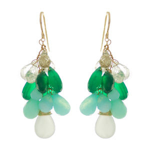 Seafoam Green Drop Earrings