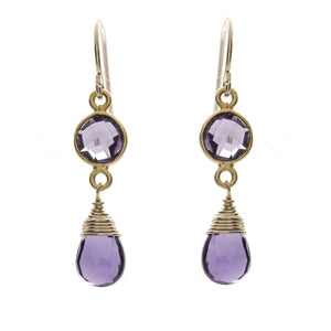 Amethyst Nat Earrings