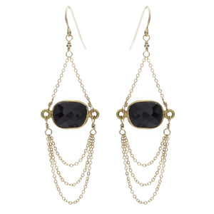 Sanda Muni Chandelier Earrings