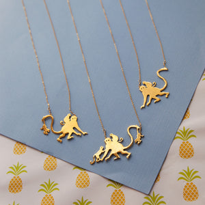 Monkey Mommy Necklace