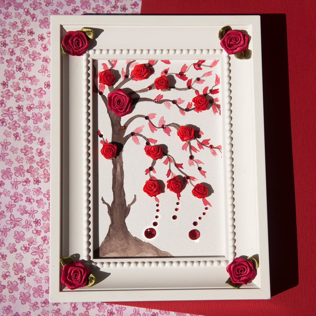 Flower Bloom Frame - Summer Blossom