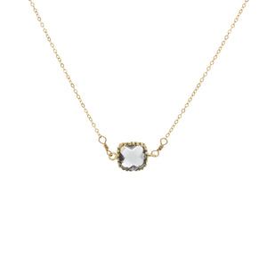 Square Prong Bezel Gemstone
