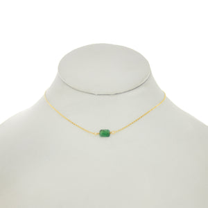 Cedar Green - Emerald Necklace